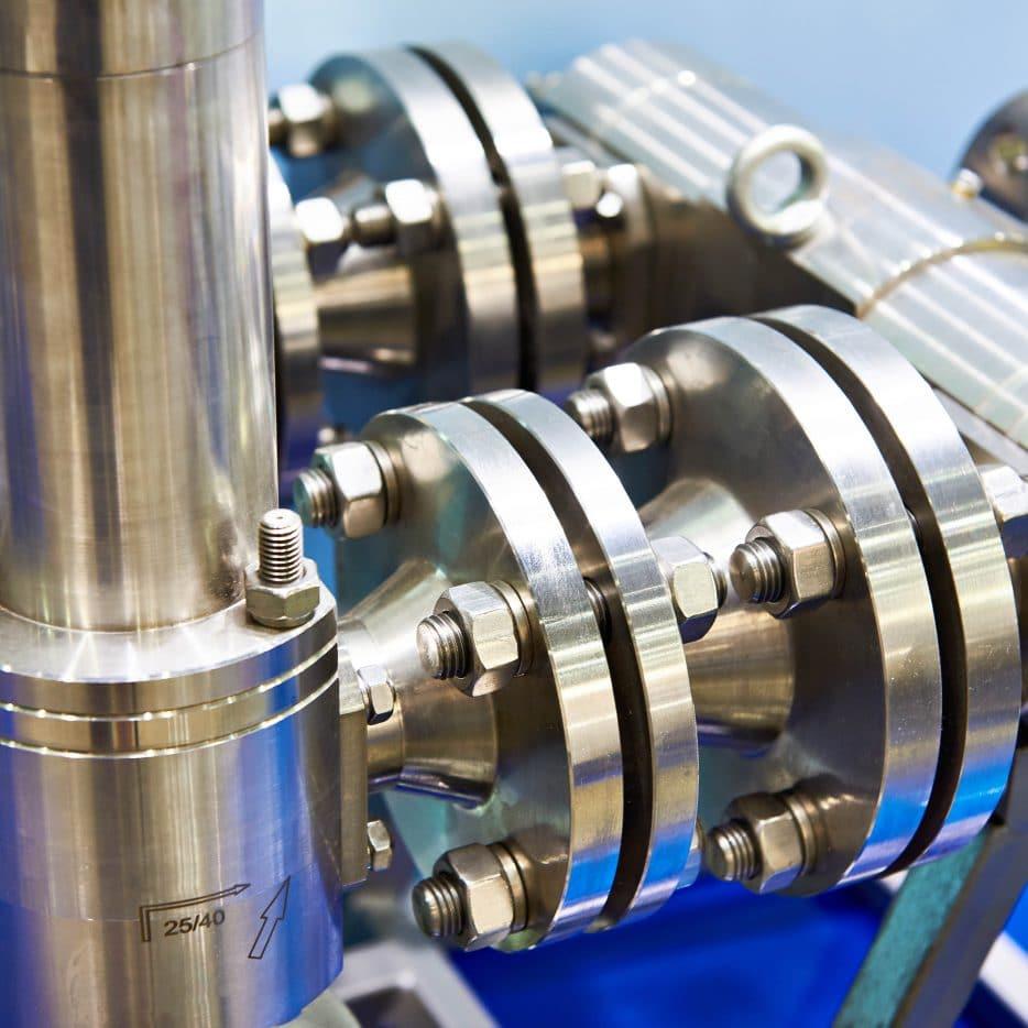 Equipment manufacturing valves