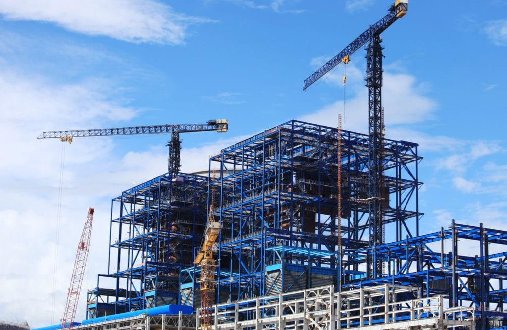 Construction building industry