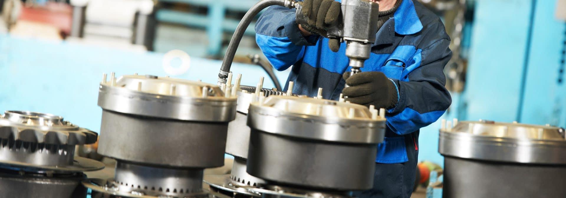 Assembling casting, forgings and bearings