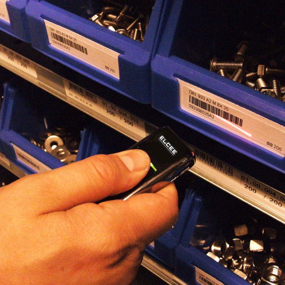 BarTrack scanner system for stainless steel fasteners