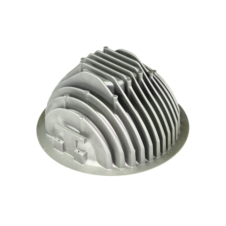 Product manufactured by high pressure die casting