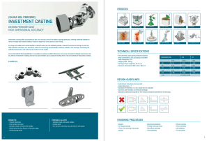ELCEE section brochure engineered components in which we elaborate 11 production technologies