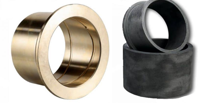 Bronze and composite bearings from ELCEE