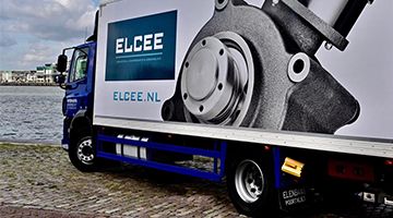 ELCEE vehicle at the water