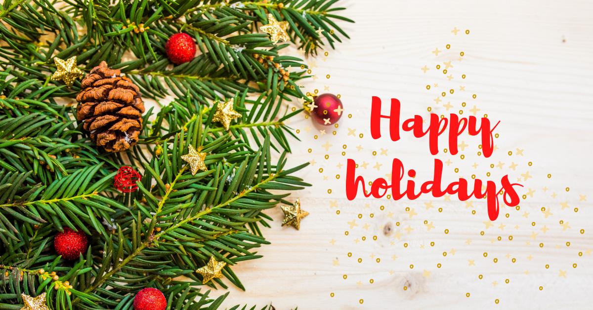 Happy holidays ELCEE