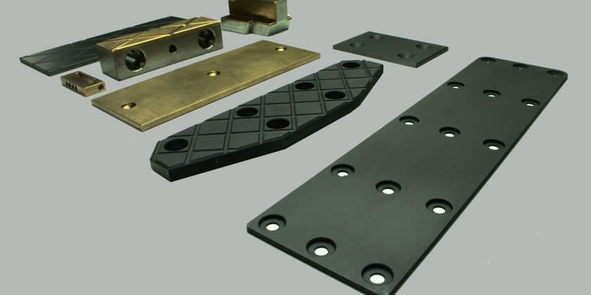 SLIDING PADS Realise linear movement in one direction