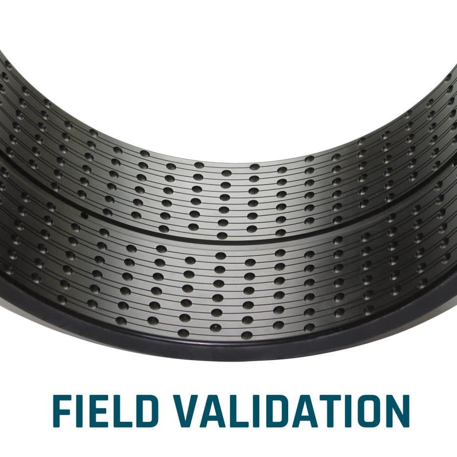 FIELD VALIDATION plain bearing ELCEE