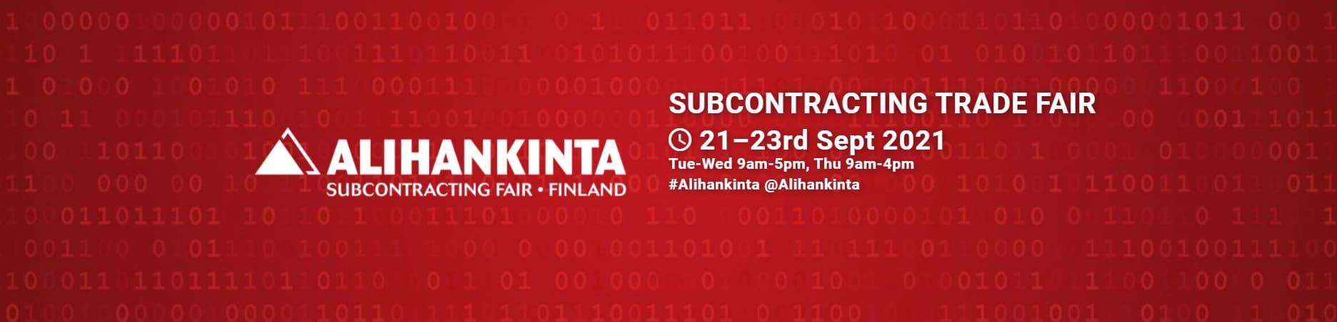 Alihankinta 2021 exhibition
